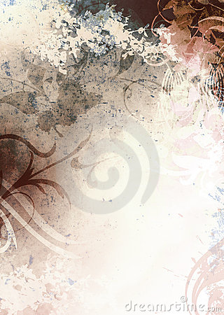 Grunge Background Brown