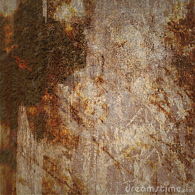 Grunge Background with Brown Marks