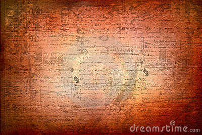 Grunge background with handwrite text