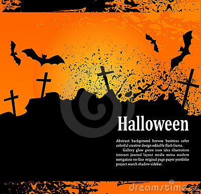 Grunge background for holiday Heluin, with crosses