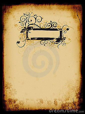 Grunge background, old paper, pattern