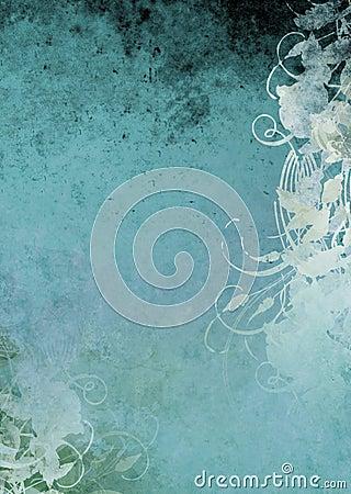 Grunge Background Teal