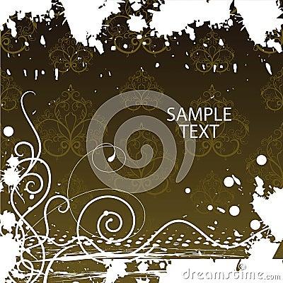 Grunge background. Vector illustration