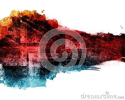Grunge banner.