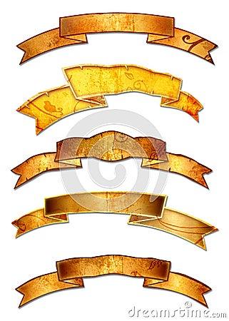 Grunge banner designs