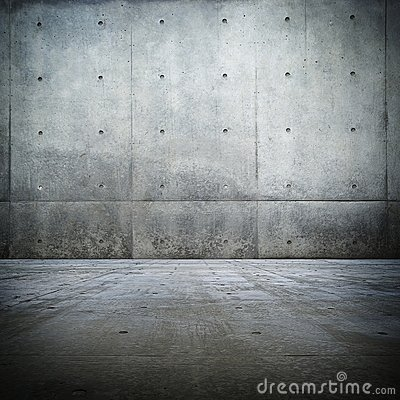 Free Grunge Bare Concrete Room Royalty Free Stock Photos - 11700938