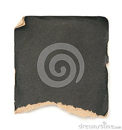Grunge black paper