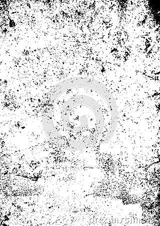 Grunge black texture Vector Illustration