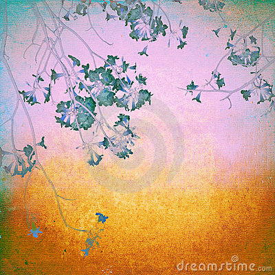 Free Grunge Blossom Flower Royalty Free Stock Image - 22817226