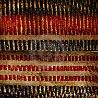 Grunge blue and red stripe patter