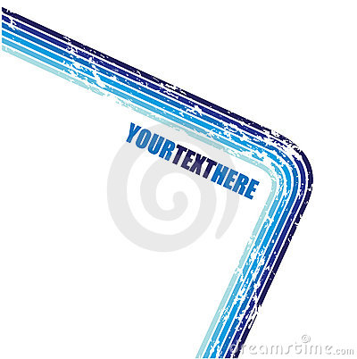 Grunge blue straight lines
