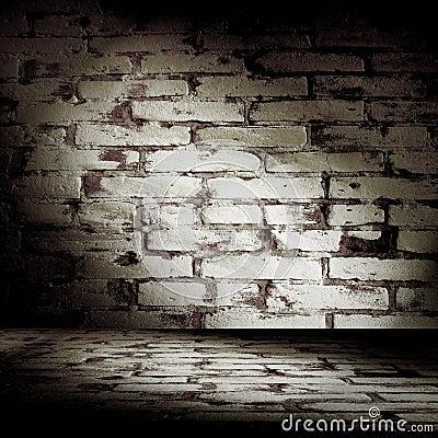 Grunge Brick Room