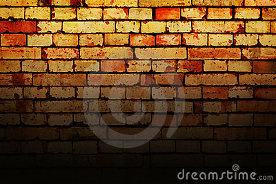 Grunge Brick Wall Background Stock Photo - Image: 14284430