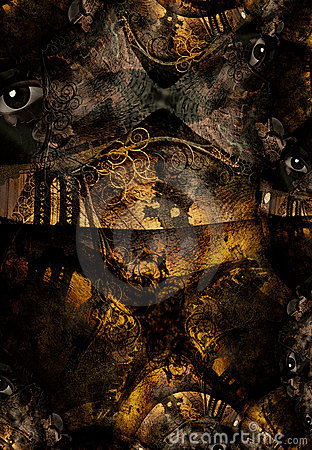 Grunge Bridge Abstract