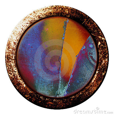 Grunge Button