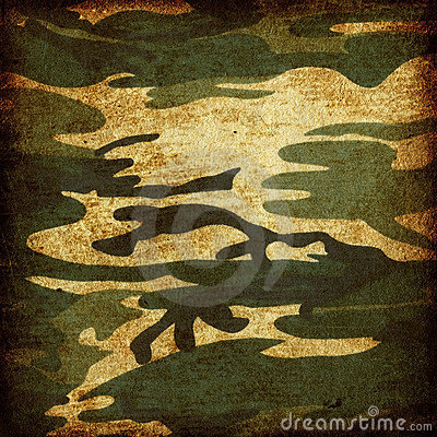 Free Grunge Camouflage Royalty Free Stock Photography - 4539747
