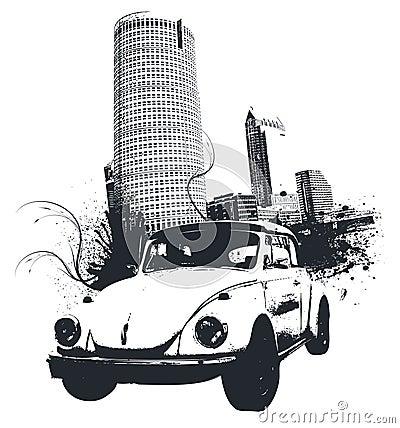 Grunge Car City