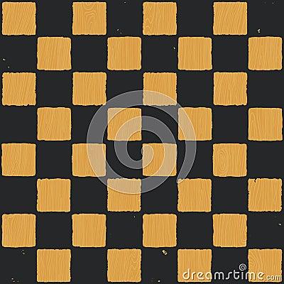 Grunge chessboard