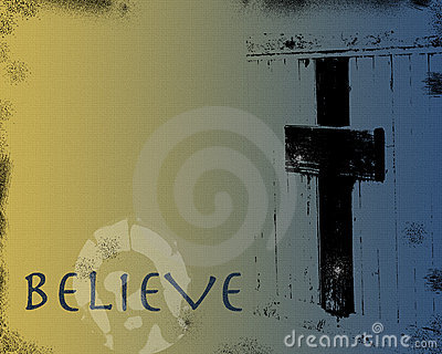 Grunge Christian Background