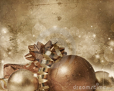 Grunge Christmas background