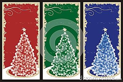Grunge Christmas backgrounds
