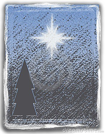 Grunge Christmas Star