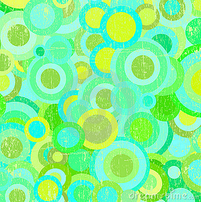 Grunge circles wallpaper vector