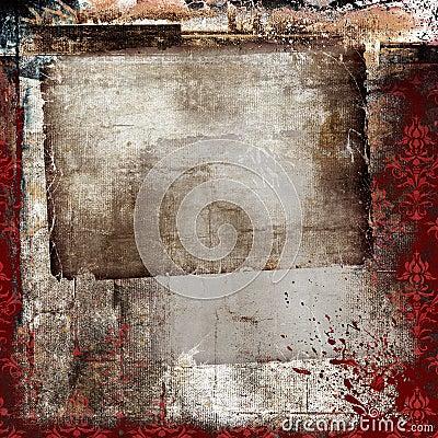Grunge collage