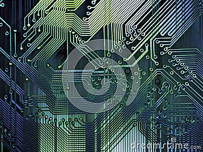 Grunge Computer Background