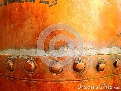 Grunge Copper Detail