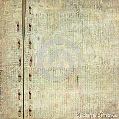 Grunge cover for album or portfolio