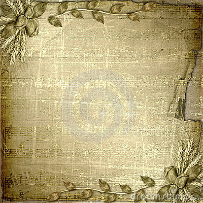 Free Grunge Cover In Scrapbooking Style With Bunch Royalty Free Stock Photo - 11197215
