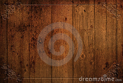 Grunge decorative wood background