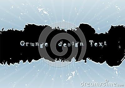 Grunge design text