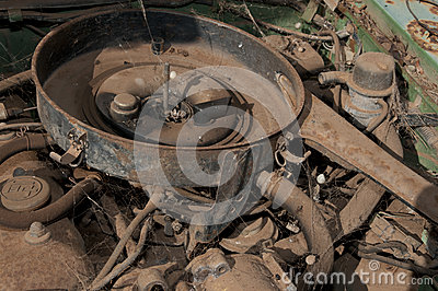 Grunge Dirty Motor Stock Photo - Image: 28173280