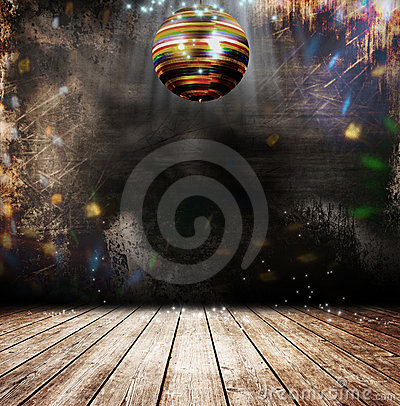 Free Grunge Disco Ball Stock Images - 22655404