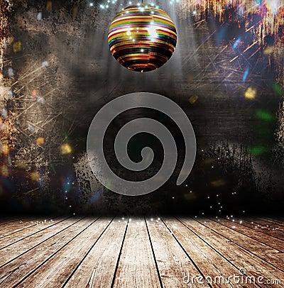 Free Grunge Disco Ball Stock Images - 22655404