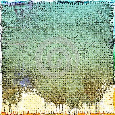 Grunge dripping background