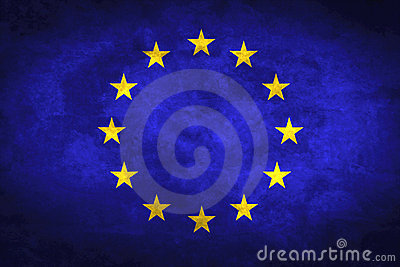 Grunge European Flag