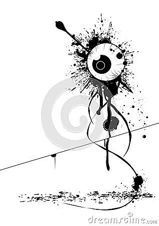 Free Grunge Eye Royalty Free Stock Images - 4423809