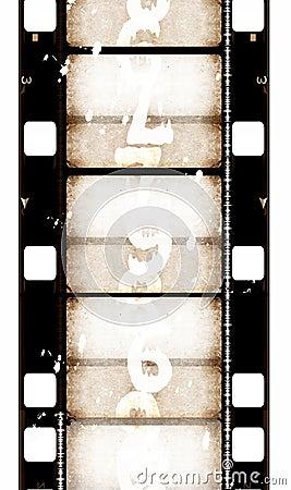Free Grunge Film Background Stock Photo - 4601190