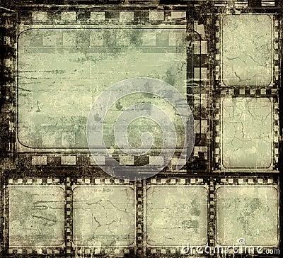 Free Grunge Film Frame Stock Photography - 3558152