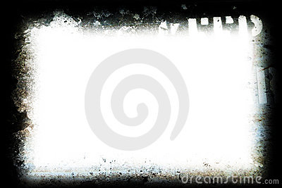 Grunge film or photo frame
