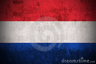 Grunge Flag Of Netherlands