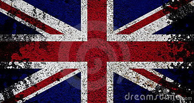 Grunge Flag Of UK