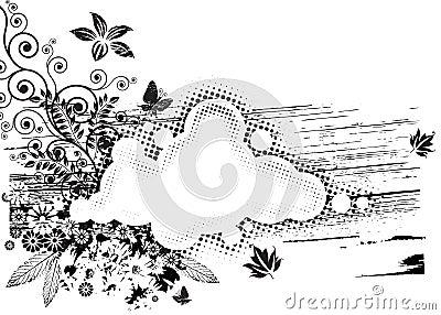 Grunge Flora