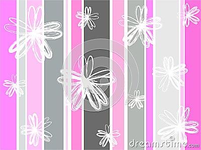 Grunge florals
