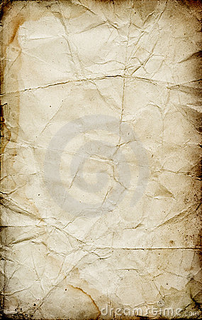 Free Grunge Folded Paper Texture Stock Images - 5110364