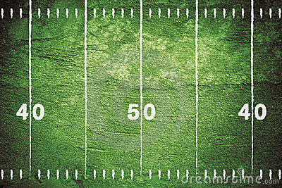 Grunge Football Field Royalty Free Stock Photos - Image: 15583588