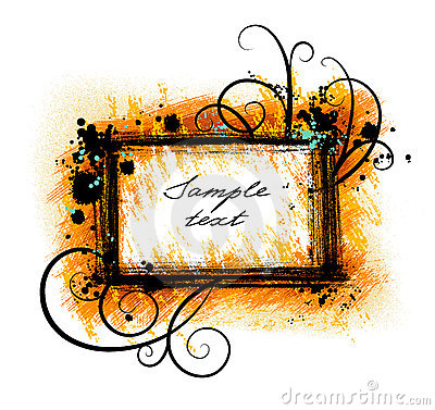 Grunge Frame Royalty Free Stock Photos - Image: 4422298